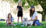 Denise Richards took her two girls, Sam and Lola to the park in Los Angeles