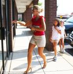 Kate Gosselin took her twins Mady and Kara to a music store
